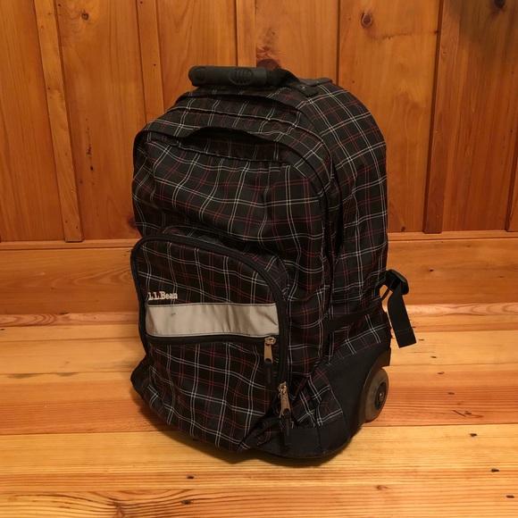 226e49ef8f3c3 L.L. Bean deluxe rolling book bag. M_5c58ca2ffe5151db9b974d69